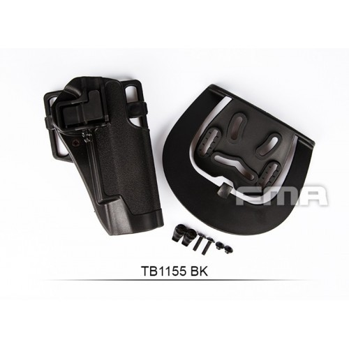 FMA Quarters Combat Holster for 1911 (Black)