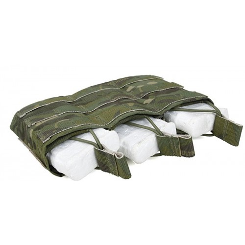 TMC Open-Top Stacker Triple Mag Pouch (Multicam Tropic)