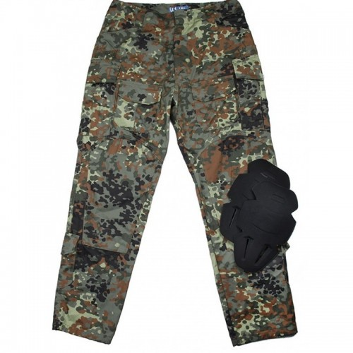 TMC Gen3 Camo Basic Trouser with Inner Knee Pads (Flecktarn)