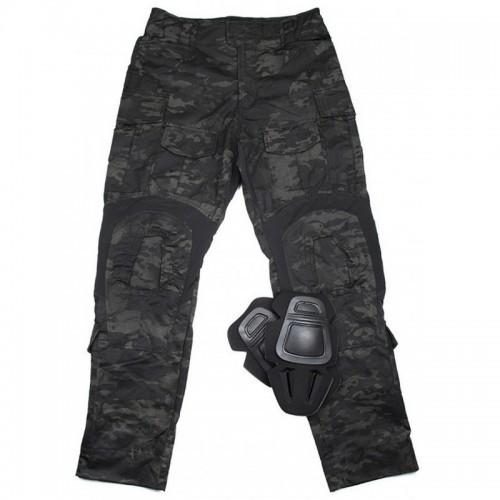 TMC Gen3 Combat Trouser with Knee Pads (Multicam Black)