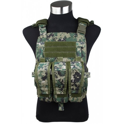 TMC Modular Assault Vest System Plate Carrier 2015 Version