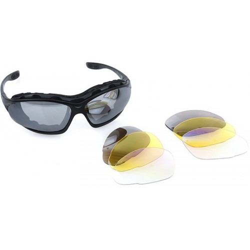 TMC C4 Polycarbonate Multi Purpose Eye Protection Shooting Glasses Set