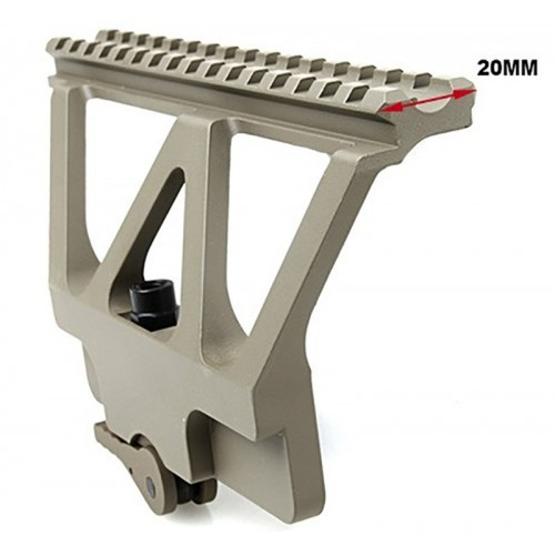 TMC Aluminum AK Side Scope Mount