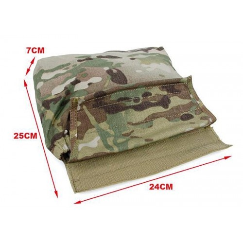 TMC Multi Function Hook and Loop Roll Up Dump Pouch