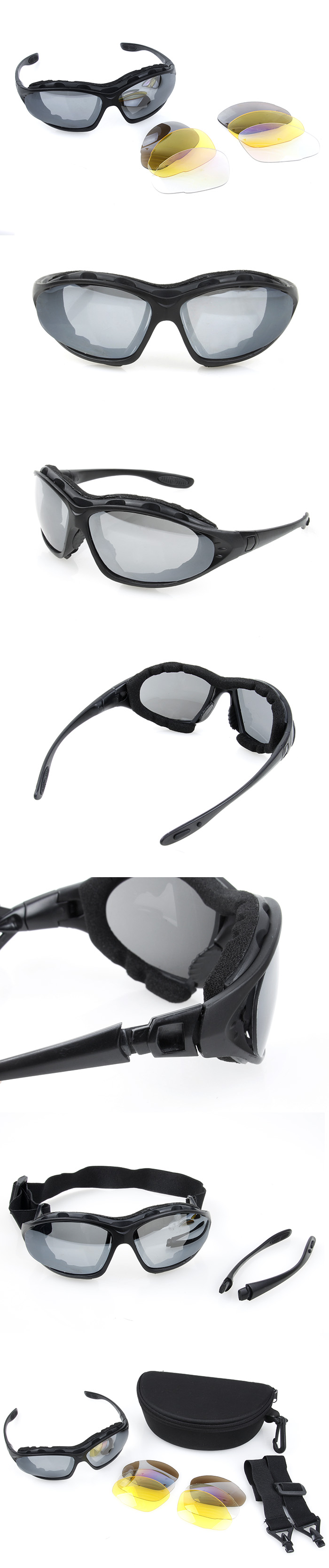 9ff3f1c19f3 This polycarbonate lenses offer the best protection for your eyes. Nylon  glasses frame has lightweight construction. It is best choice for your game  or ...