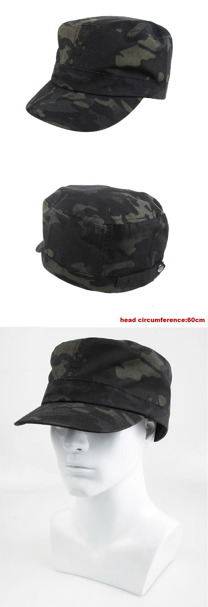 55ad1e3049d It features sturdy single-ply construction with a clean-looking surged  inside seam and a plastic visor insert to help maintain the brim s shape.