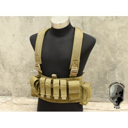 TMC Low Profile Recon Chest Rig (Khaki)