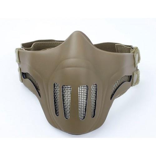 TMC Polymer Metal Mesh Half Face Mask (DE)