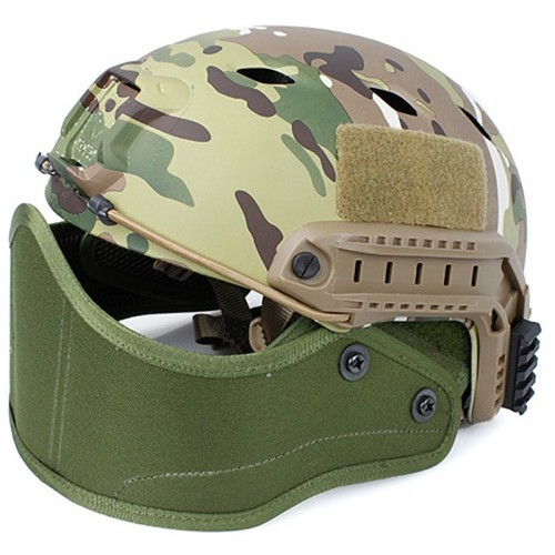TMC Helmet Half Face Armour Mask