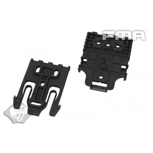 FMA Quick Lock Holster System Kit (Black)