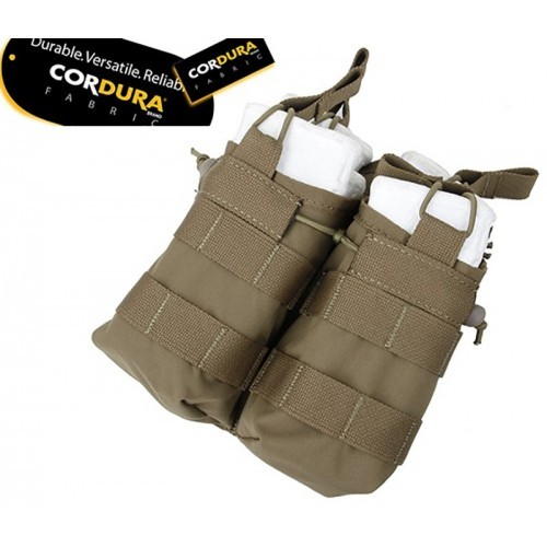 TMC Open Top Stacker Double Mag Pouch