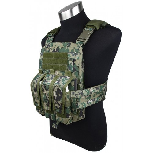 TMC Modular Assault Vest System Plate Carrier 2015 Version