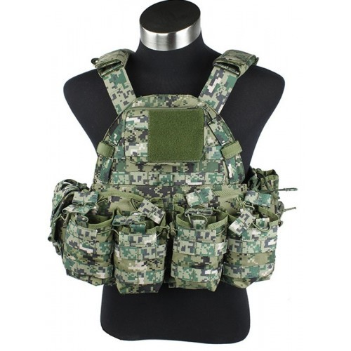 TMC MP94A Modular Plate Tactical with Pouches Vest 2014 Version