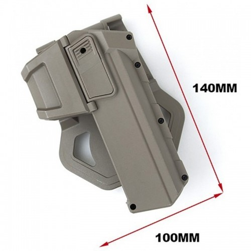 TMC Lightweight Bearing Concealment Holster For G17