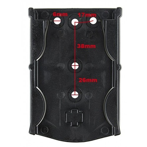 TMC Modular Locking Receiver Plate