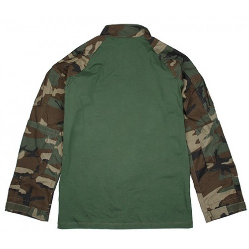 TMC Defender Combat Shirt (Woodland)