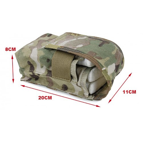 TMC Enlarge Dual Stacker 417 Single Mag Pouch