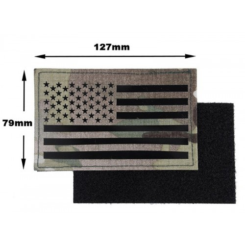 TMC Laser Cut US Flag Patch