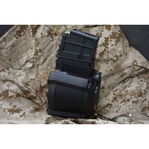 BattleAxe 1500Rds AEG Electric Magazine Drum for G36