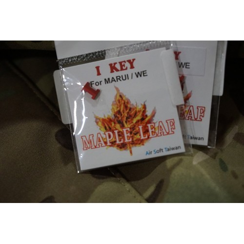 Maple Leaf CNC Aluminum I-Key for Marui/WE GBB Pistol