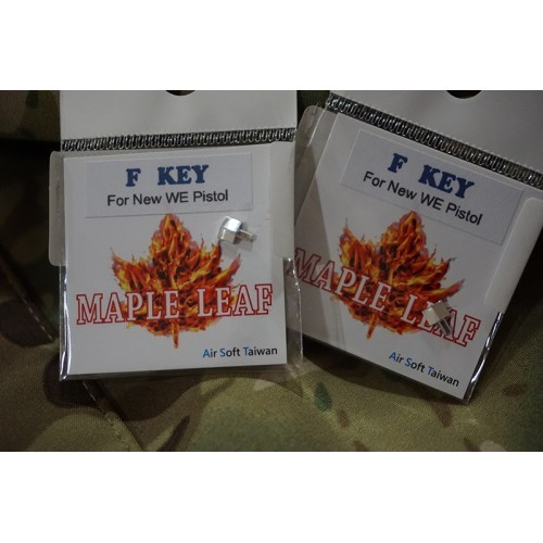 Maple Leaf CNC Aluminum F-Key for WE GBB Pistol