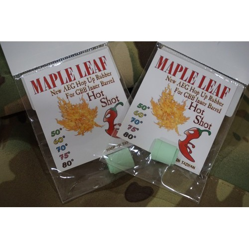 Maple Leaf Hot Shot Hop-Up Rubber Set for AEG