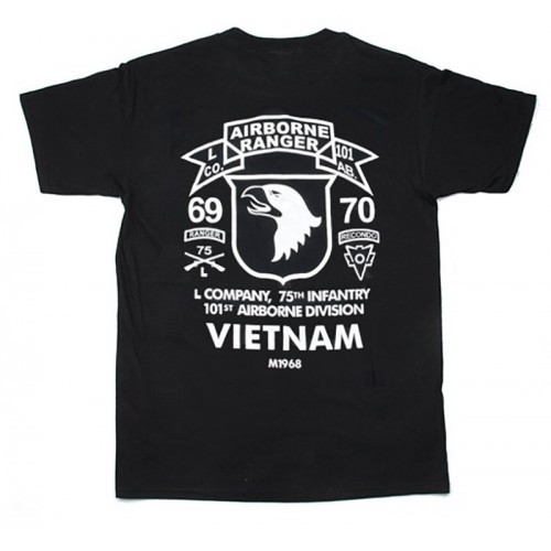 Waterfall 75TH Ranger Style Cotton T Shirt