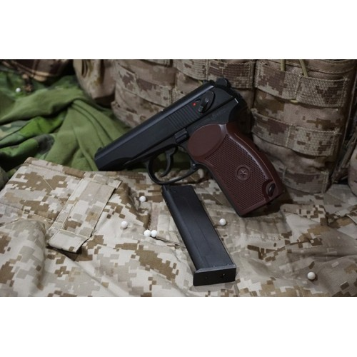 KSC MKV PM Makarov Full Metal GBB Pistol