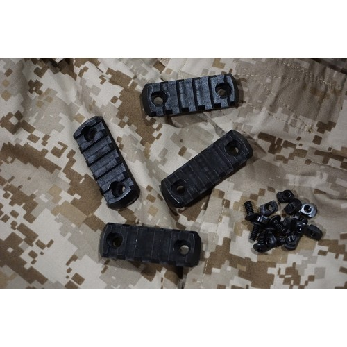 AABB M-Lock Nylon Picatinny Rail Sections Set