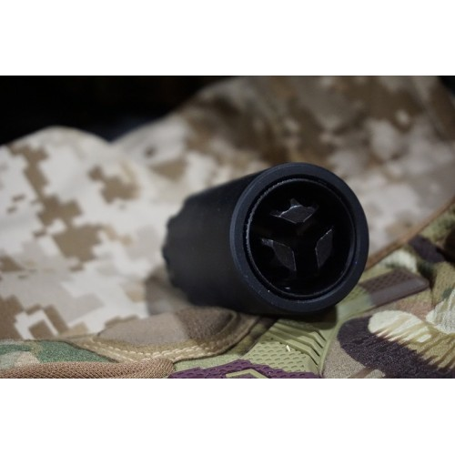 5KU 7.62 Taper Mount Flash Comp and Blast Shield