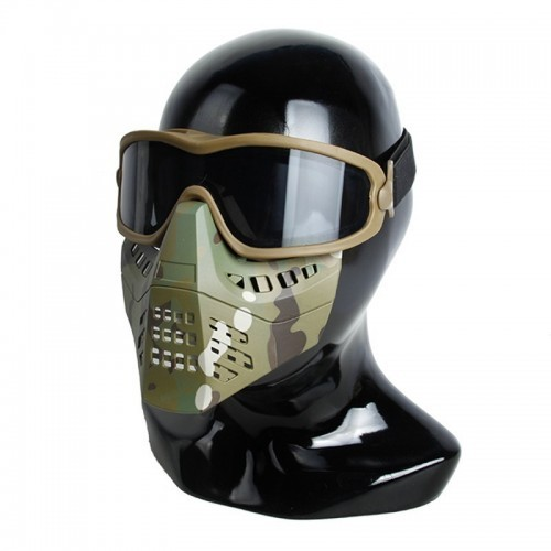 TMC ANSI Z87.1 Impact Rated Goggle with Removable Mask