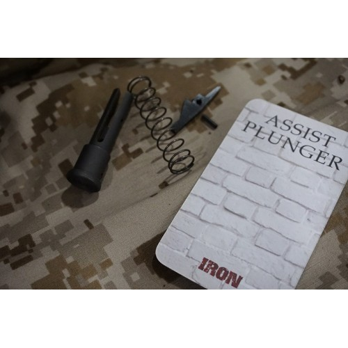 Iron Airsoft Steel Forward Assist Plunger
