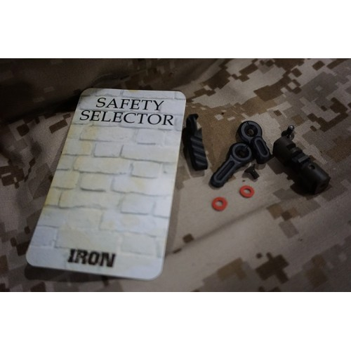 Iron Airsoft Combat Ambidextrous Safety Selector