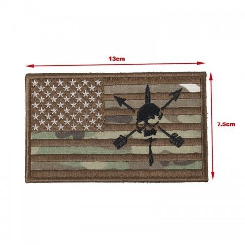 TMC US Nous Defions Flag Patch
