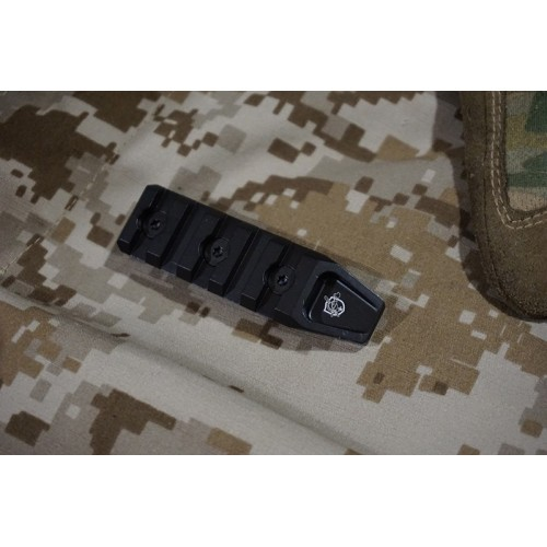 Iron Airsoft 5 Slot Rail Section fot Keymod