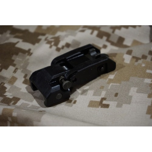 Iron Airsoft 300M and 600M Flip Up Rear Sight