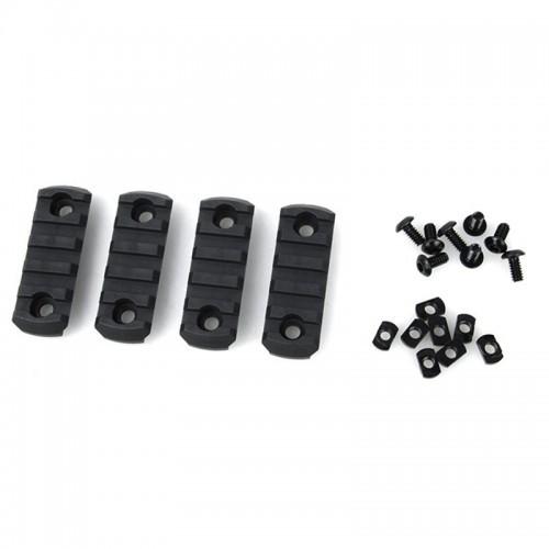 AABB Nylon M-Lock 5 Slot Picatinny Section Set