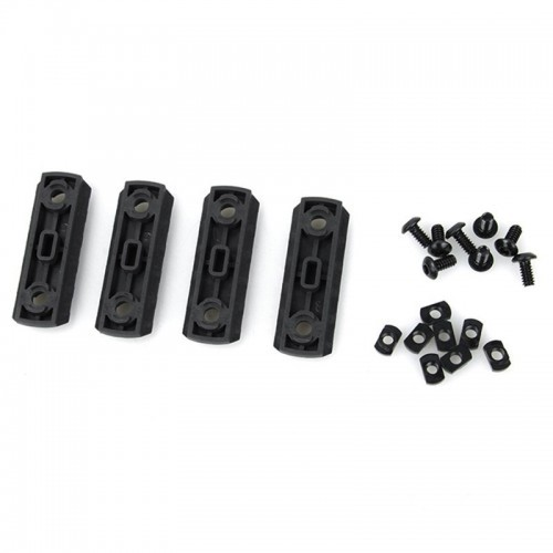 AABB Nylon M-Lock 5 Slot Picatinny Section Set