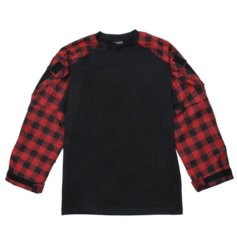 TMC Tactical Plaid Combat Shirt