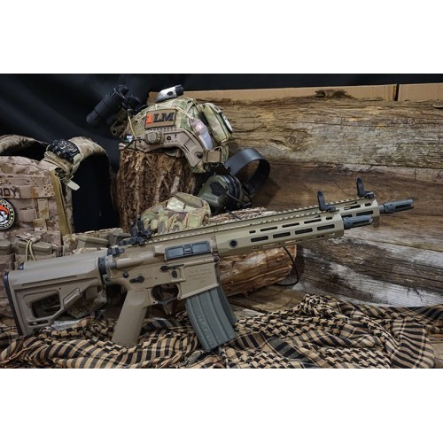 Arrow Dynamic (ARES OEM) Amoeba Octarms Pro SR16 E3 Long Type AEG Rifle