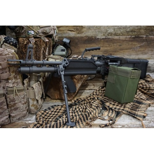 A&K Full Metal MK43 Mod 0 Machine Gun
