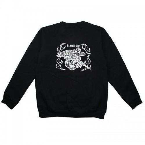 Waterfull Marine MEU Style Heavy Blend Crewneck Sweatshirt