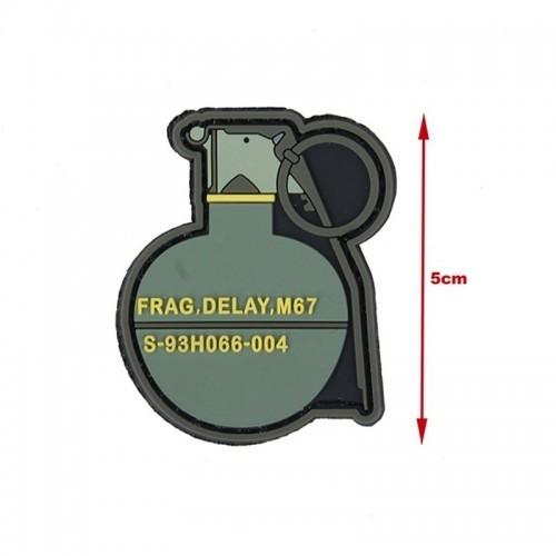 TMC M67 Grenade PVC Patch