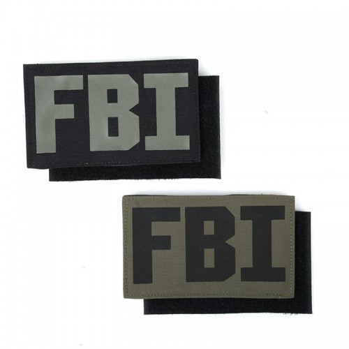 TMC FBI Pattern Style Patch Set