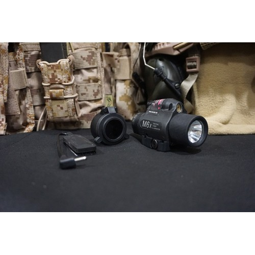 BattleField M6X Laser Tactical Flashlight