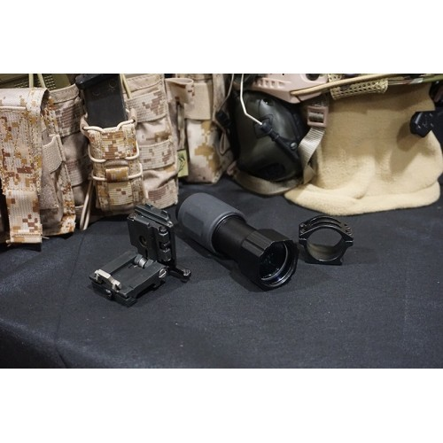 Hero Arms 5x Magnifier Scope with QD Flip-to-Side Mount