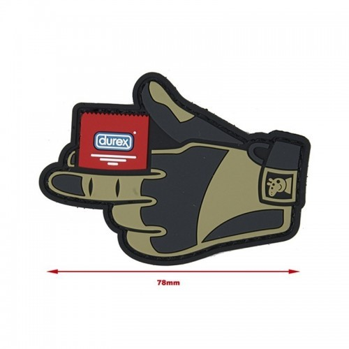 MKUN Tactical Glove with Condom Patch
