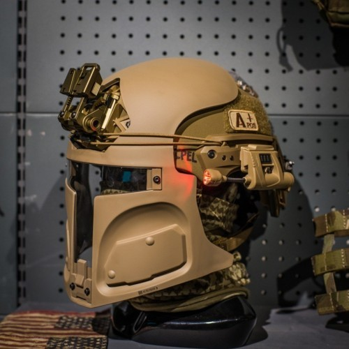 Tier None Gear LT-R500 Heavy Gunfighter Helmet Mask