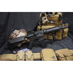 JG Full Metal M4A1 CQBR RAS AEG Carbine
