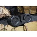 BattleAxe 2500Rds AEG Dual Electric Magazine Drum for M4